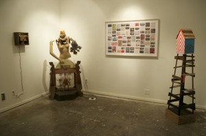 Work by Ben Burke, Tammy Rae Carland, and Erik Otto